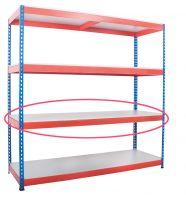 Heavy Rivet Shelving - Melamine  MFC  Shelves Only