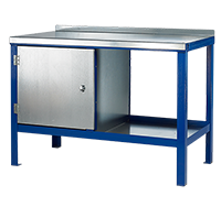 Heavy Duty Steel Top Static Work Bench-No Cupboard