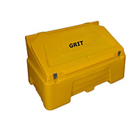 400 Litre 14 cubic feet Lockable Heavy Duty Grit Bin
