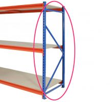 TS Longspan Racking - Chipboard Decks - Extension Kit - 1984mm High