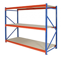 3 Level Longspan Shelving Starter Bay