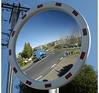 Convex Traffic Mirror Acrylic