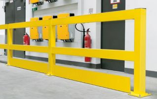 Medium Duty Railing System - Under-run Guard