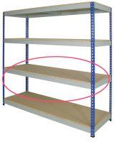 Medium Rivet Shelving - Shelves Only