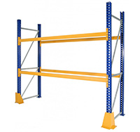 1350mm  3300kg Load  Pair of Pallet Racking Beams