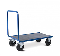 Platform Trolley with Single End Panel