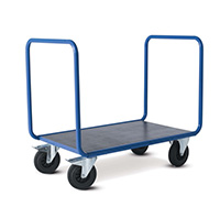 Platform Trolley with Double End Panel