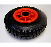220mm Pneumatic Wheels with Roller Bearing