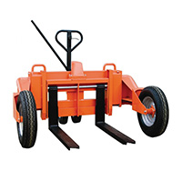 1200kg 860mm x 212mm Rough Terrain Pallet Truck