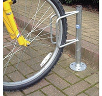 Thumbnail Velopa Floor Mounted Single Cycle Rack