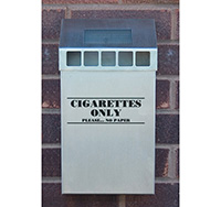 Thumbnail Wall Mounted Stainless Steel Cigarette Bin
