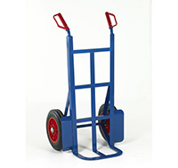 Loadtek Rough Terrain Sack Truck - Toe Depth 230mm