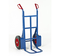 Loadtek Rough Terrain Sack Truck - Toe Depth 305mm