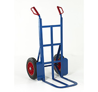 Loadtek Rough Terrain Sack Truck - Toe Depth 450mm