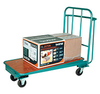 Nesting Cash   Carry Flatbed Trolley