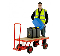 Thumbnail Hand Turnable Trailer - Deck size  1200 x 600mm