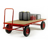 Hand Turnable Trailer - Deck size  2000 x 1000mm
