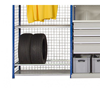 Thumbnail Expo 4 Shelving System  - Tyre Rack Bars  Pair