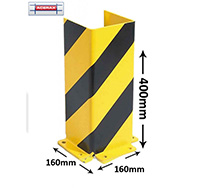 U-Profile Pallet Racking Corner Protectors  400mm height
