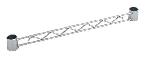 Chrome Wire Shelf - Utility Rail