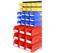 Plastic Storage Bin Wall Kit B