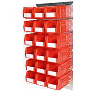 Plastic Storage Bin Wall Kit C