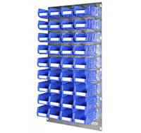 Plastic Storage Bin Wall Kit D