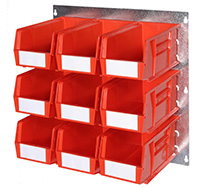Plastic Storage Bin Wall Kit G