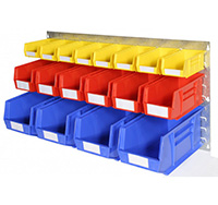 Plastic Storage Bin Wall Kit J