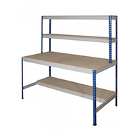 Mediun Duty Half Undershelf Rivet Workstation