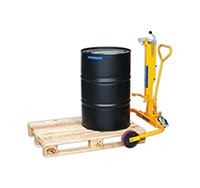 Warrior Wide Straddle Drum Porter Truck