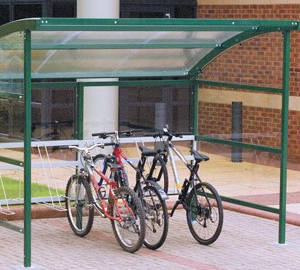 UK Supplier of External Shelters & Racks